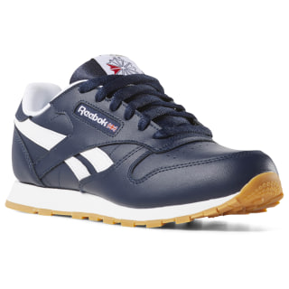 Classic Leather Collegiate Navy / White / Gum DV4571
