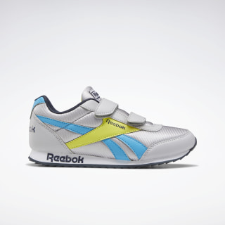 Reebok Royal Classic Jogger 2 Shoes - Preschool Cold Grey 2 / California Blue / Collegiate Navy EH2114