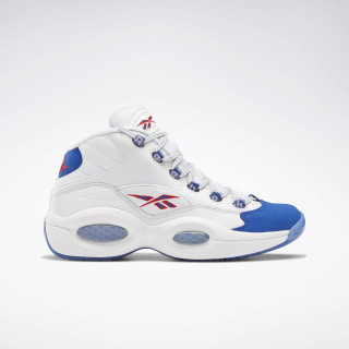 Question Mid Basketball Shoes White / Collegiate Royal / Primal Red FV7563