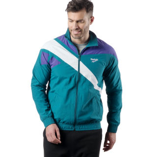 Reebok Archive Vector Tracktop Emerald Tide / Purple DZ6267
