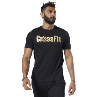 Reebok CrossFit® Christmas Tee Black FJ9492