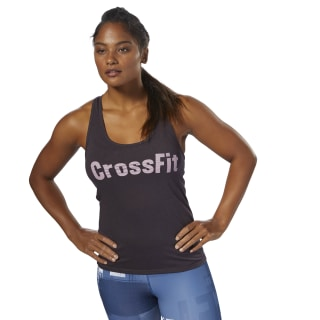 Camiseta sin mangas Reebok CrossFit F.E.F Graphic Purple DP1224