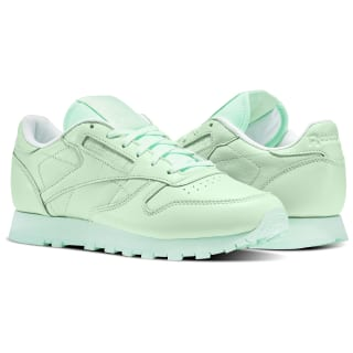 Zapatillas Classic Leather Pastels Mint Green/White BD2773