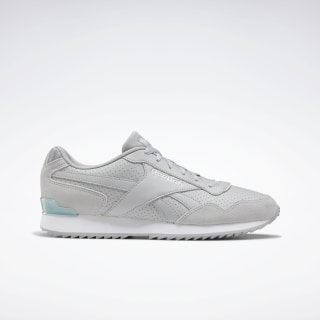 Reebok Royal Glide Ripple Clip Shoes Pure Grey 3 / True Grey / White EF7711