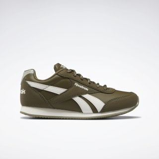 Reebok Royal Classic Jogger 2.0 Shoes Army Green / Chalk / None EF3430