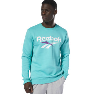 Classics Vector Crewneck Jumper Sweatshirt Timeless Teal DX3836