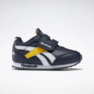 Reebok Royal Classic Jogger 2.0 Shoes Collegiate Navy / Solar Gold / White EH2112