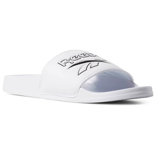 Chanclas Reebok Classic Slide White / Black / Vector Slide DV4909