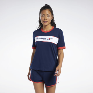 T-shirt Classics Linear Collegiate Navy FJ3308