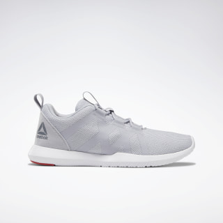 Reebok Reago Pulse Cold Grey 2 / White / Rebel Red DV9384