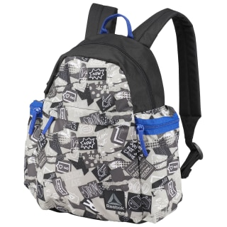Kids Graphic Backpack Black CE3448