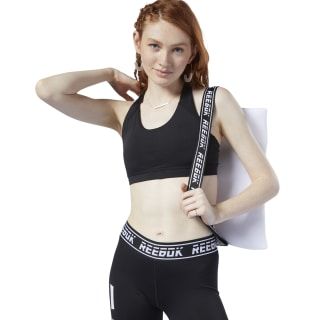 Sujetador deportivo de impacto medio Workout Ready Padded Black EC3074