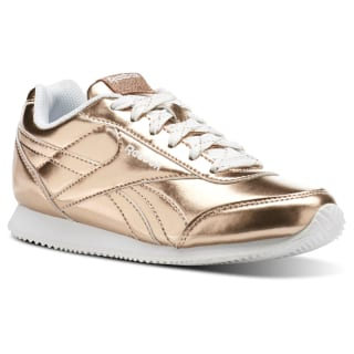 Tenis Reebok Royal Classic Jogger 2.0 ROSE GOLD METALLIC/WHITE CN1328