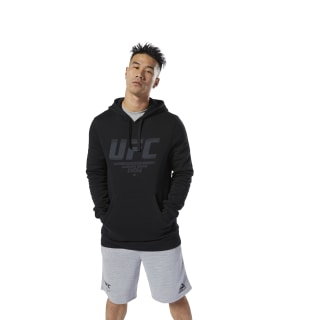 Bluza z kapturem UFC Fan Gear Black DQ2005