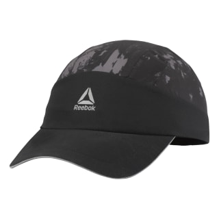 Casquette Running Graphic Perforated Black D68158