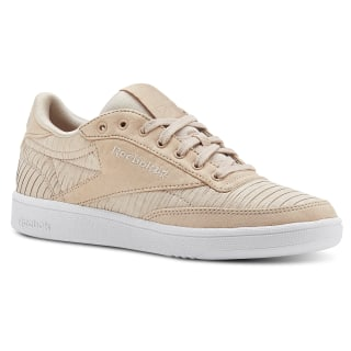 CLUB C 85 EF TXT Bare Beige / White CN3281