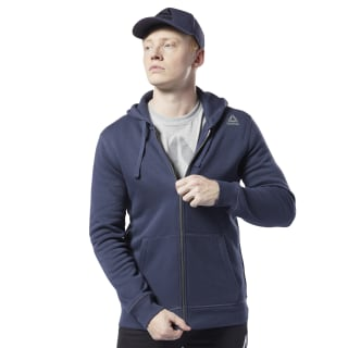 Худи Elements Fleece Full-Zip heritage navy EC0801