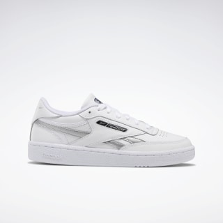 Club C Revenge Shoes White / Silver Metallic / White EH1516