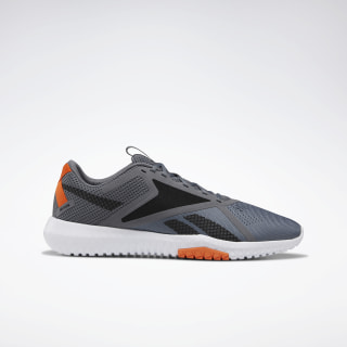 Reebok Flexagon Force 2.0 Extra-Wide Shoes Cold Grey 6 / Black / Fiery Orange EH0177