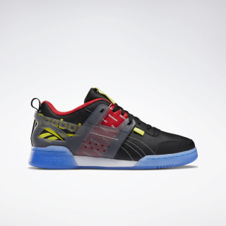 Workout Plus ATI Shoes Black / Cold Grey / Hero Yellow EH1043