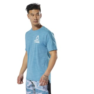 Training ACTIVCHILL Graphic Tee Mineral Mist DP6552