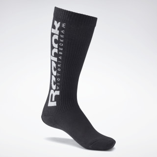 VB Basketball Socks Black / White FS9744