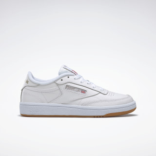 Club C 85 White / Light Grey / Gum BS7686