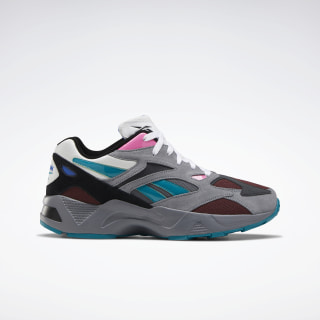 Aztrek 96 Cold Grey 4 / Burnt Sienna / Seaport Teal EF3566
