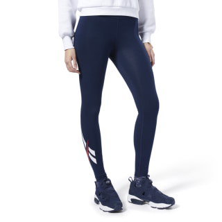 Leggings Classics Vector Logo Collegiate Navy FL9425