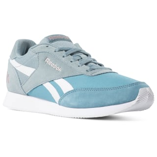 Reebok Royal Clean Jogger Blue / Teal Fog / Smoky Rose / White CN7384
