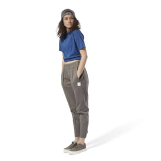 Classics Advanced Crop Tee Bunker Blue DH1236