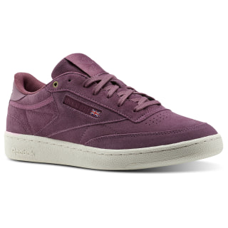 Reebok Club C 85 Montana Cans collaboration Purple/Dusty Pink/Chalk CM9293
