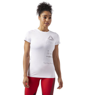 T-Shirt ACTIVCHILL Graphic White CF5950