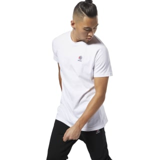 Classics Short Sleeve Longer Tee White DH2075
