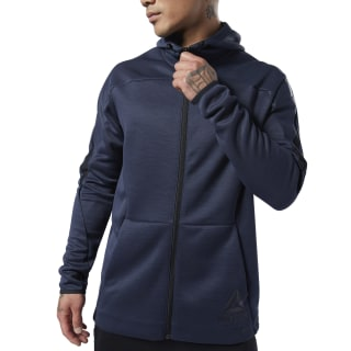 Hoodie de zipper completo One Series Training Heritage Navy EC0977