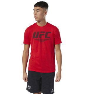 UFC Fan Gear Logo Tee Primal Red DU4585