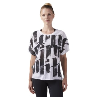 Camiseta Oversized White CD3775