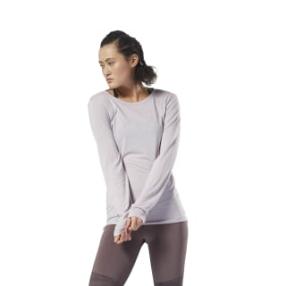 Supremium Long Sleeve Tee Lavender Luck DH1991