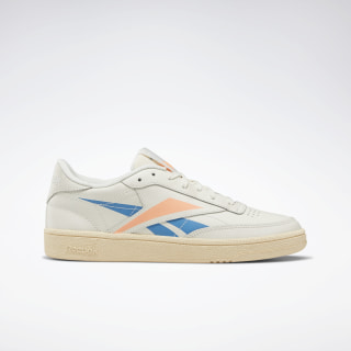 Кроссовки Reebok Club C 85 chalk/cyan/sunglow DV7247