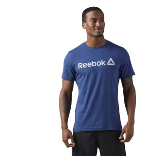 T-shirt Reebok Logo Washed Blue CF3898
