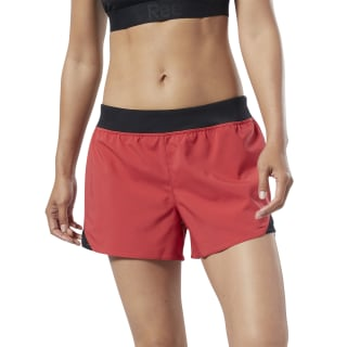 WOR Knit Woven Shorts Rebel Red EC2281