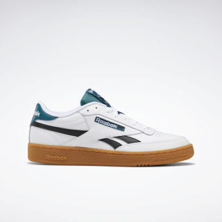 Club C Revenge Shoes White / Black / Heritage Teal EF7855