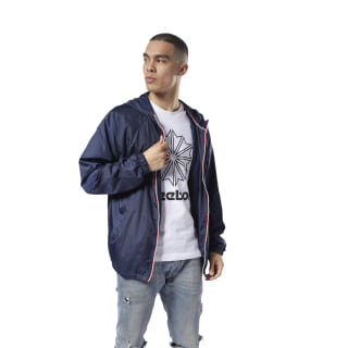 Classics Foundation Windbreaker Collegiate Navy DH2068