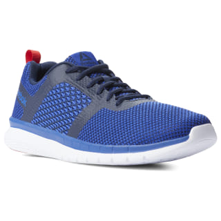 Кроссовки Reebok PT Prime Runner FC BLUE MOVE/COLLEGIATE NAVY/PRIMAL RED/WHITE CN5674