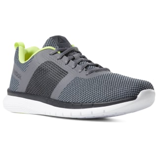 Кроссовки Reebok PT Prime Runner FC COLD GREY/NEON LIME/WHITE CN7455