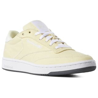 Club C 85 Canvas Shoes Washed Yellow / Wht / Grey DV4173