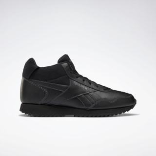Reebok Royal Glide Mid Shoes Black / Alloy / White DV6781