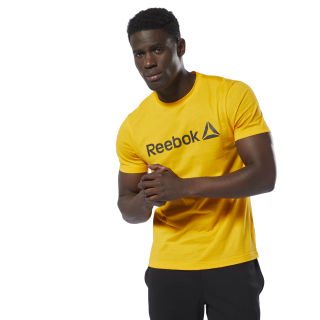 T-shirt avec inscription Reebok Semi Solar Gold DU4683
