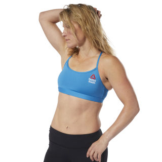 Reebok CrossFit Strappy Sports Bra Mendota Blue DM3998