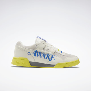 Awake Workout Plus Shoes Chalk / Flat Grey / Vital Blue EG6742
